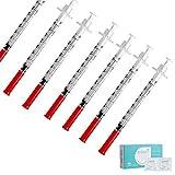 インスリンシリンジ1ml滅菌シリンジリキッドディスペンサーシリンジ50個 アルコール綿50本