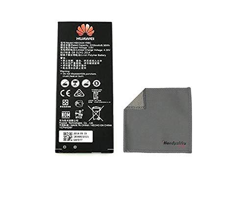 Handyakku4you Original Huawei Akku HB4342A1RBC für Huawei Honor 4A Y5 II Y6 Y6 II Compact Accu 2200mAh inkl. Handyakku4you Reinigungstuch
