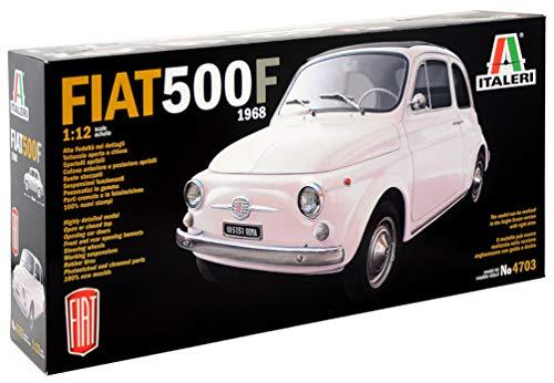 Italeri 4703 - Fiat 500F 1968 - modellismo auto Model Kit - Scala 1:12
