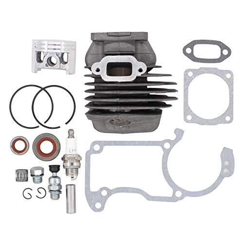 ApplianPar Big Bore Cylinder Piston Kit 1121 020 1217 for Stihl 026 MS260 026PRO Chainsaw 44.7mm