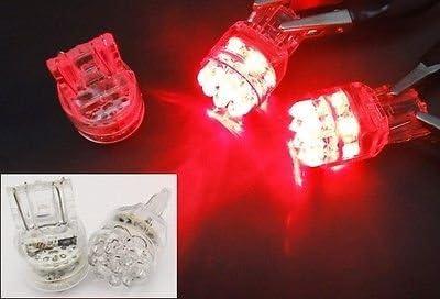 LEDIN Cheap mail order shopping 2 Pcs of RED 15 LED Marker 7440 Bulb Side 7443 Light Rear Fort Worth Mall
