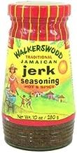 Walkerswood Jamaican Jerk Seasoning Hot, 10-Ounce Bottles (Pack of 4)