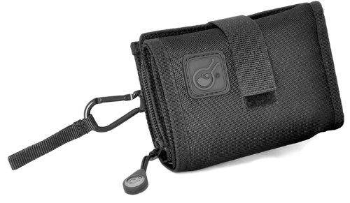 Civillian Lab - Portafoglio Scomparto per Gli Smartphone, Passante per Cintura, Colore Nero