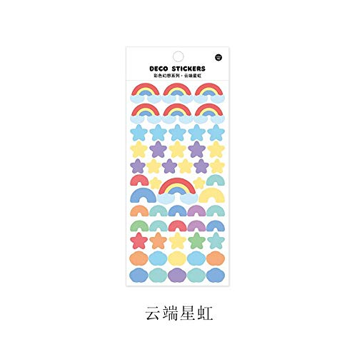 TIANZI New year's Sequin Stickers for Diary Album Decor Toys for Kids Computer Notebook Phone Case Cute aesthetic Scrapbooking