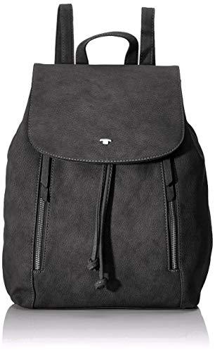 TOM TAILOR Rucksack Damen Carol, (Grau), 24x38x10 cm, TOM TAILOR Rucksackhandtasche, Damenrucksack,handtasche rucksack damen
