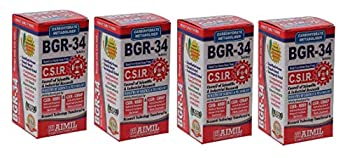 Aimil BGR 34 Tabets  Pack of 4  | 100 4 = 400 Tablets