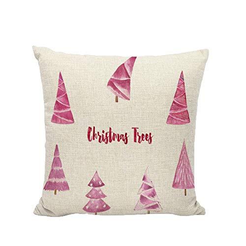 Kissenbezug Merry Christmas Decoration Bettwäsche Weihnachtsmann Sofa Cover bettwäsche Weihnachten...