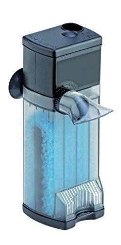 EDEN 57244 304 Innenfilter (25 Liter Aquarium) - kompakter Aquariumfilter (240 Liter / h) für den Innenraum zur Filterung, Reinigung und Aufbereitung des Wassers in Süß- und Meerwasseraquarium