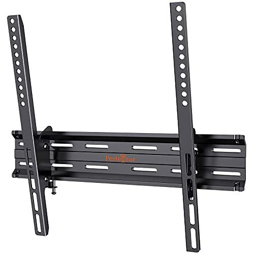 Perlegear Soporte TV Pared de 26 a 55 Pulgadas, Soporte de TV en Pared inclinable para Televisión con Carga de 45 kg, VESA Máx. de 400x400mm