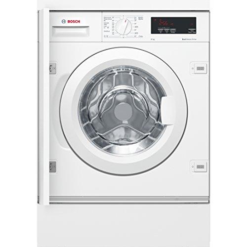 Bosch Serie 6 WIW24300ES Intégré Charge avant 8kg 1200tr/min A+++ Blanc machine à laver - Machines à laver (Intégré, Charge...