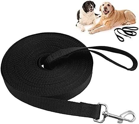 YYchan Training Lead for Dogs with 10m/32ft, Dog Training Leads for Pet Tracking Training Obedience , Long Dog Lead is Sturdy with Rotatable Buckle, Long Line Dog Lead for Large Medium Small Dogs