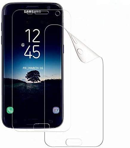 WISMURHI [2 Pezzi Pellicola Protettiva per Samsung Galaxy S7 Edge, TPU Ultra Sottile Protezioni per Lo Schermo Ultra HD/Anti-graffio/Non Vetro Temperato Samsung Galaxy S7 Edge Trasparente Pellicola