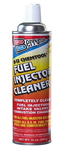 Berryman Products 1120 B-12 Chemtool Thru-Rail Fuel Injector Cleaner Pressurized Can, 12-Ounce
