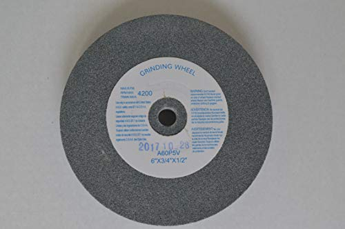 GITACHI 15036 6' Bench Grinding Wheel 36 Grit- 6 Inch X 3/4 Inch X 1/2 Inch