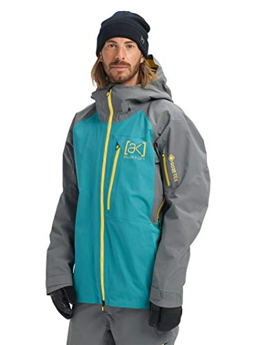 Burton Mens Ak Gore-Tex Cyclic Jacket, Green-Blue Slate/Castlerock, X-Large