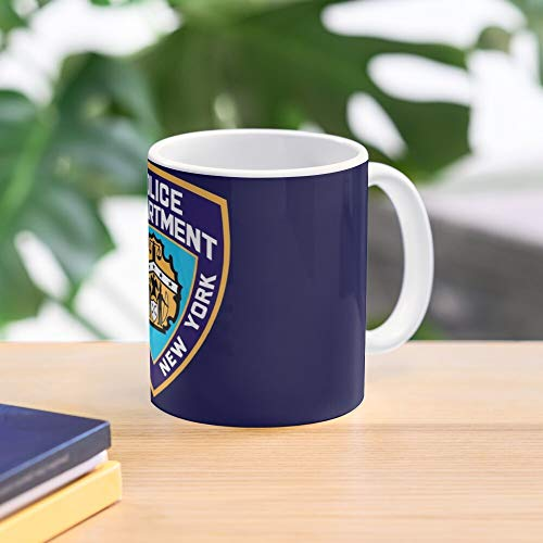 5TheWay Police Popular Humor Quotes Chistmas Los Angles NYPD Memes Best 11 oz Kaffeebecher - Nespresso Tassen Kaffee Motive