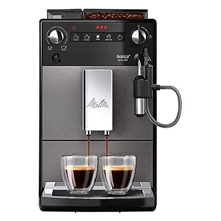 Machine à café entièrement automatique Melitta, Série Advance 600, Art. Non. 6767843, Titien mystique
