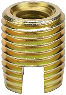 Maxmartt 58Pcs Stainless Steel Inner Thread Self Tapping Thread Inserts Set Thread Reinforce Repair Tool