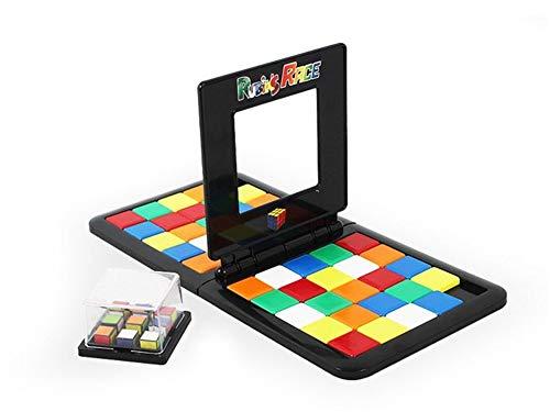 YING Magic Block Game Juego de Mesa portátil de Carreras Magic Cube Juego de Mesa Cuadrado de Movimiento rápido de Velocidad, Equipo Diapositiva educativa para Padres e Hijos