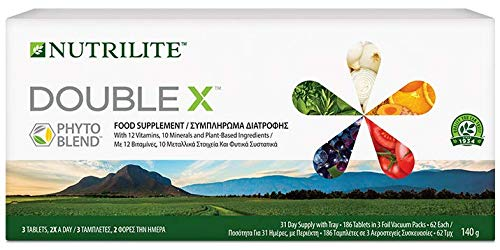 Nutrilite Double X Best Supplement of Vitamins, Minerals & phytonutrients by Amway