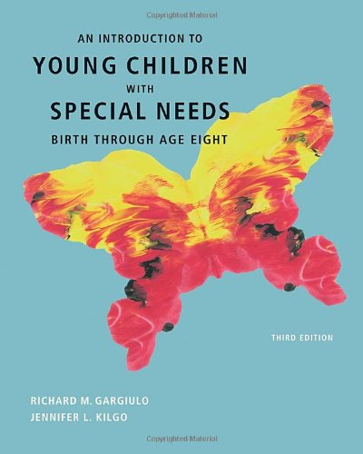 Compare Textbook Prices for An Introduction to Young Children with Special Needs: Birth Through Age Eight Available Titles CourseMate 3 Edition ISBN 9780495813156 by Gargiulo, Richard,Kilgo, Jennifer L.