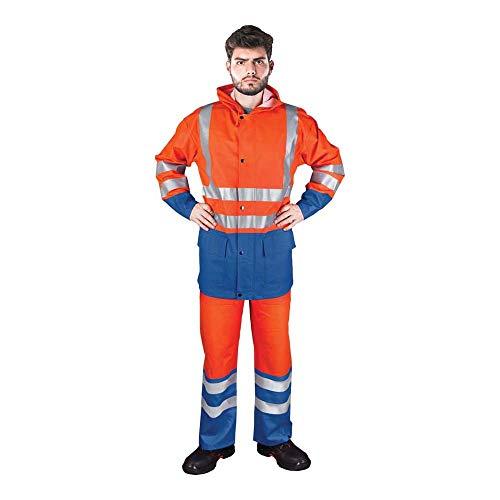 Reis Kplpufluo_Pnl Schutzregensatz, Orange-Blau, L Größe