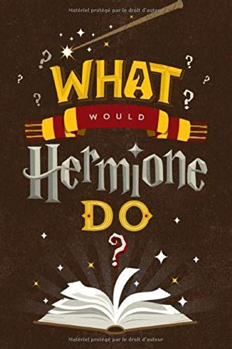 Agenda What would hermione do ?: Agenda Harry potter -...