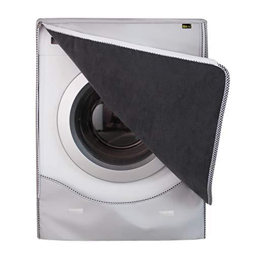 Copertura Lavatrice per Esterno per Le lavatrici & Asciugatrice Coprilavatrice di Spessore Migliore Performance di Crema Solare Anti-ultravioletti Impermeabile Antipolvere(Camoscio,XL)