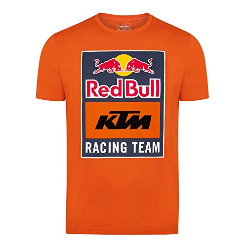 Red Bull KTM Emblem T-Hemd, Rot Herren Large T Shirt, KTM Racing Team Original Bekleidung & Merchandise