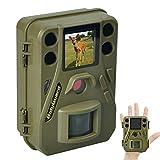 BolyGuard Outdoor Mini cámara de vida silvestre con visión nocturna activada por movimiento 12MP 720P caza exploración cámara infrarroja IP65 resistente al agua
