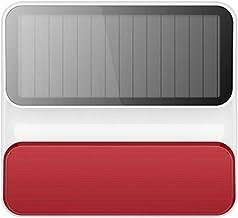 OWSOO Solar Powered Wireless 433 MHz stroboscoop sirene alarm stroboscoop knipperlicht sirene voor thuisveiligheid alarmsy...