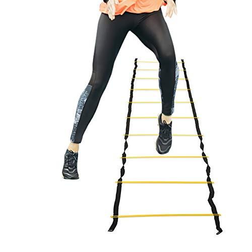 Rehomy Speed Training Agility Ladder Voetwerk Oefening Tool voor Voetbal Voetbal Sport (7/10/13-Rung)