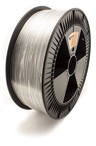 BASICFIL PET 2.85mm 2.3 kg, TRANSPARENT (clear), 3D Drucker Filament