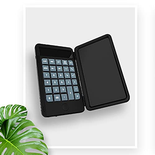 YZZR Calculadora de Escritorio de 12 dígitos con Pantalla Grande,Modo de Carga,función Avanzada de cálculo de Porcentaje,botón de Gel de sílice/Viene con Pantalla de Escritura a Mano