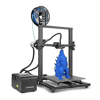 LGT Longer LK1 3D Printer, 300x300x400mm Large Build Size Printer DIY Kit, Metal Frame with Resume Printing