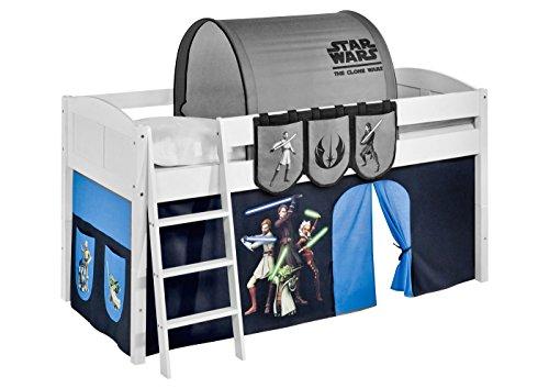 Lilokids Vorhang Star Wars The Clone Wars - für Hochbett, Spielbett und Etagenbett