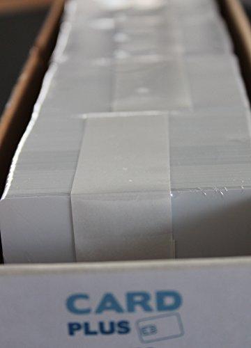 CardPlus PVC Plastikkarte, weiß (VPE 500 Stück)