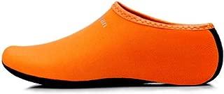 Water Socks Barefoot Skin Shoes Beach Surf Diving Home Slipper Pool Swimming Yoga Socks for Men Women orange