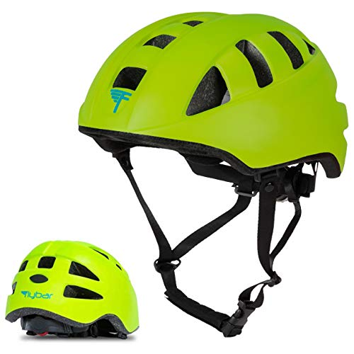 Flybar Junior Helmets for Kids (Green, Small)