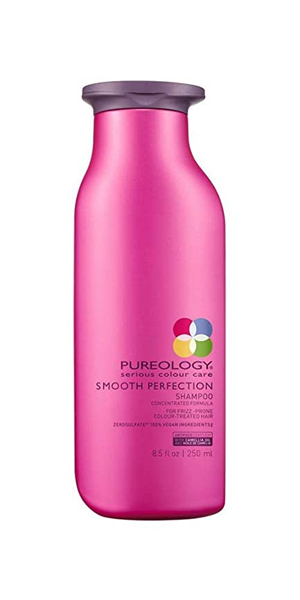 青アーク分析するピュアロジー Smooth Perfection Shampoo (For Frizz-Prone Colour-Treated Hair) 250ml/8.5oz並行輸入品