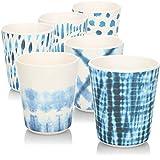 COM-FOUR® 6x Vasos de melamina para beber - vasos de plástico de melamina - vasos...