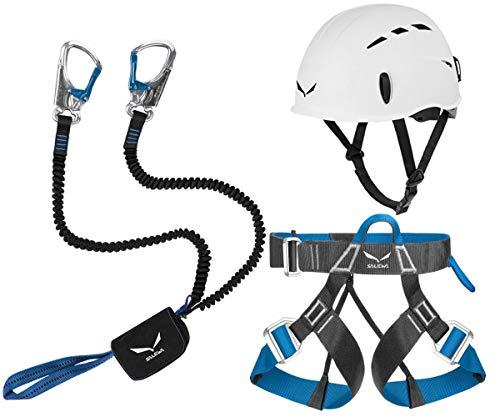 Klettersteigset Salewa Premium Attac + Gurt Ferrata Lite + Helm Toxo