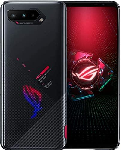 Asus ROG Phone 5 (ZS673KS/I005DA) 5G / Dual SIM / 256GB + 12GB RAM/SIMフリー/Tencent 版 with Google Play / リフレッシュレート144Hz / ゲーミングスマホ (Phantom Black/ブラック)並行輸入品