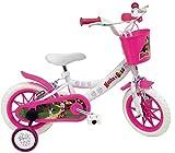 giordanoshop Bicicletta per Bambina 12' Eva 2 Freni Masha e Orso