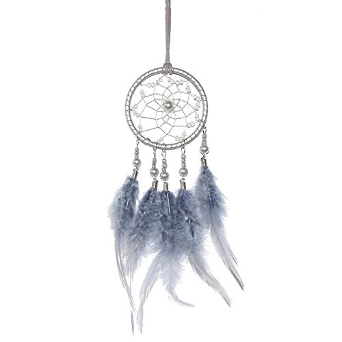 "Dream Catcher Car Interior Rearview Mirror Dangle 2.8"" Diameter and 13"" Long"