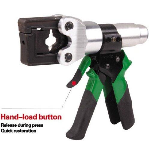Gowe Outils à sertir hydraulique (Système de sécurité à l'intérieur) pour 4–150 mm2 conducteur à sertir Pince à sertir Mini Hydraulique à main hydraulique Câble Lug
