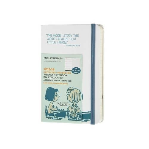 Moleskine Large Peanuts Limited Edition 18 Months 2014 Weekly Notebook (Luglio 13   Dicembre 14)