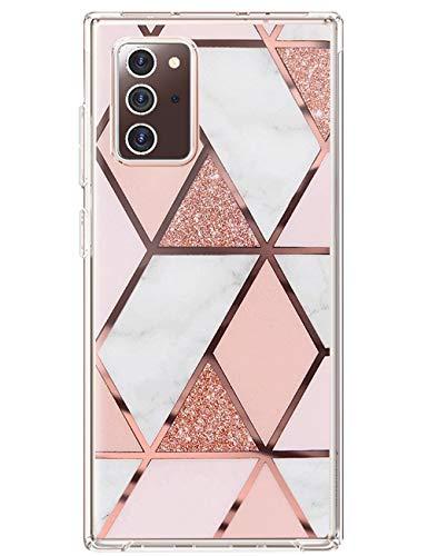 kinnter Note 20 5G Hülle Silikon Kompatibel mit Samsung Galaxy Note 20 5G Handyhülle Waterproof Klar Slim TPU Stoßfest Schutzhülle Original Design für Samsung Note 20 5G Tasche Cover