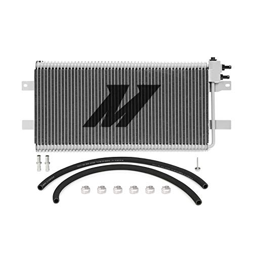 Mishimoto MMTC-RAM-03SL Automatic Transmission Oil Cooler Compatible With Dodge Ram Cummins 2500/3500 5.9L / 6.7L 2003-2009