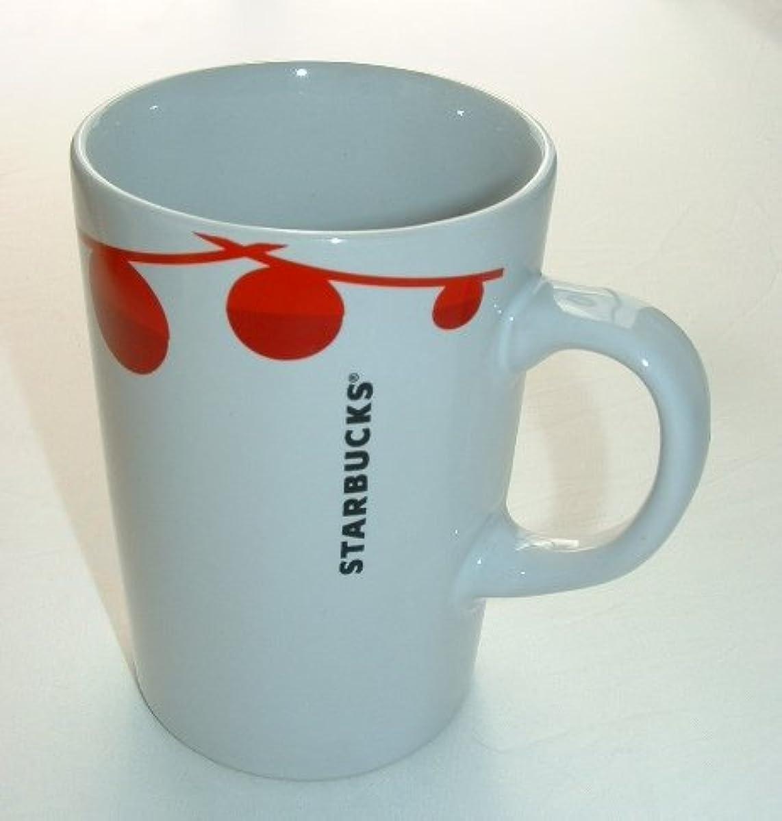 Starbucks Festive Holiday Red Baubles Mug